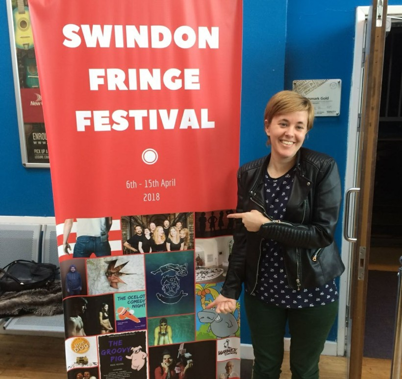 Katrina Quinn at Swindon Fringe Festival